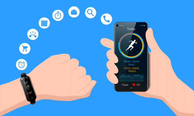 black-watch-your-hand-smart-phone-mobile-fitness-app-with-running-tracker-heart-rate-meter-healthy-lifestyle-concept-realistic