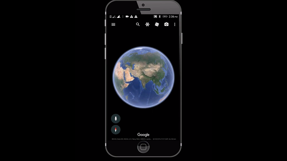 Tracking Phone Location Using Google Earth